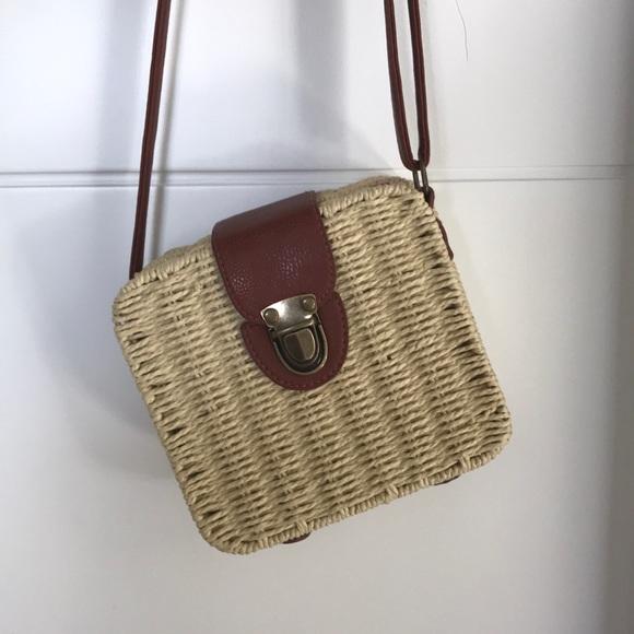 Square basket bag